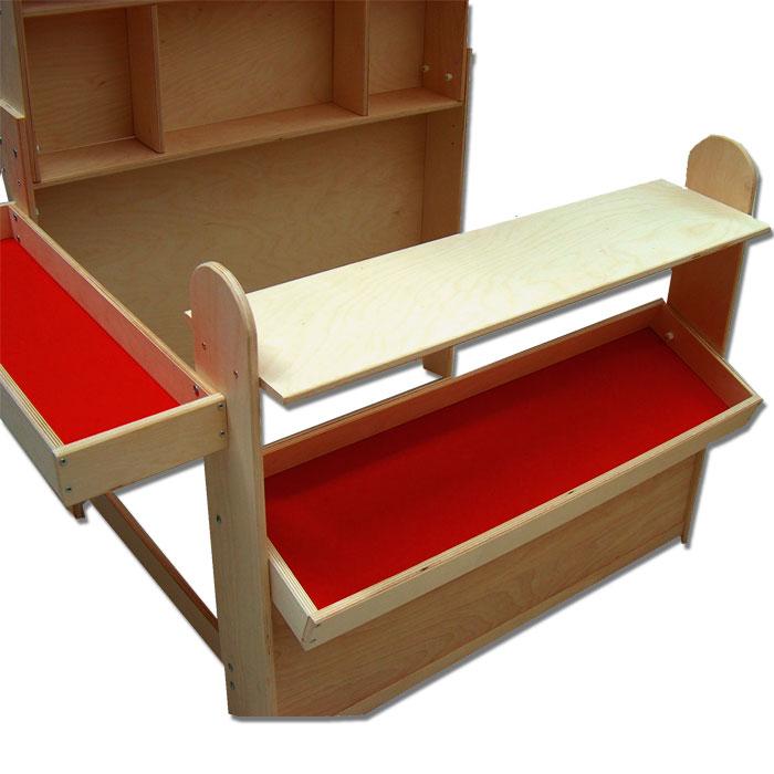 Kaufladen Mit Markise Holz Von Eichhorn ~ Details zu Plaho Kaufladen Kaufmannsladen mit Markise aus Holz