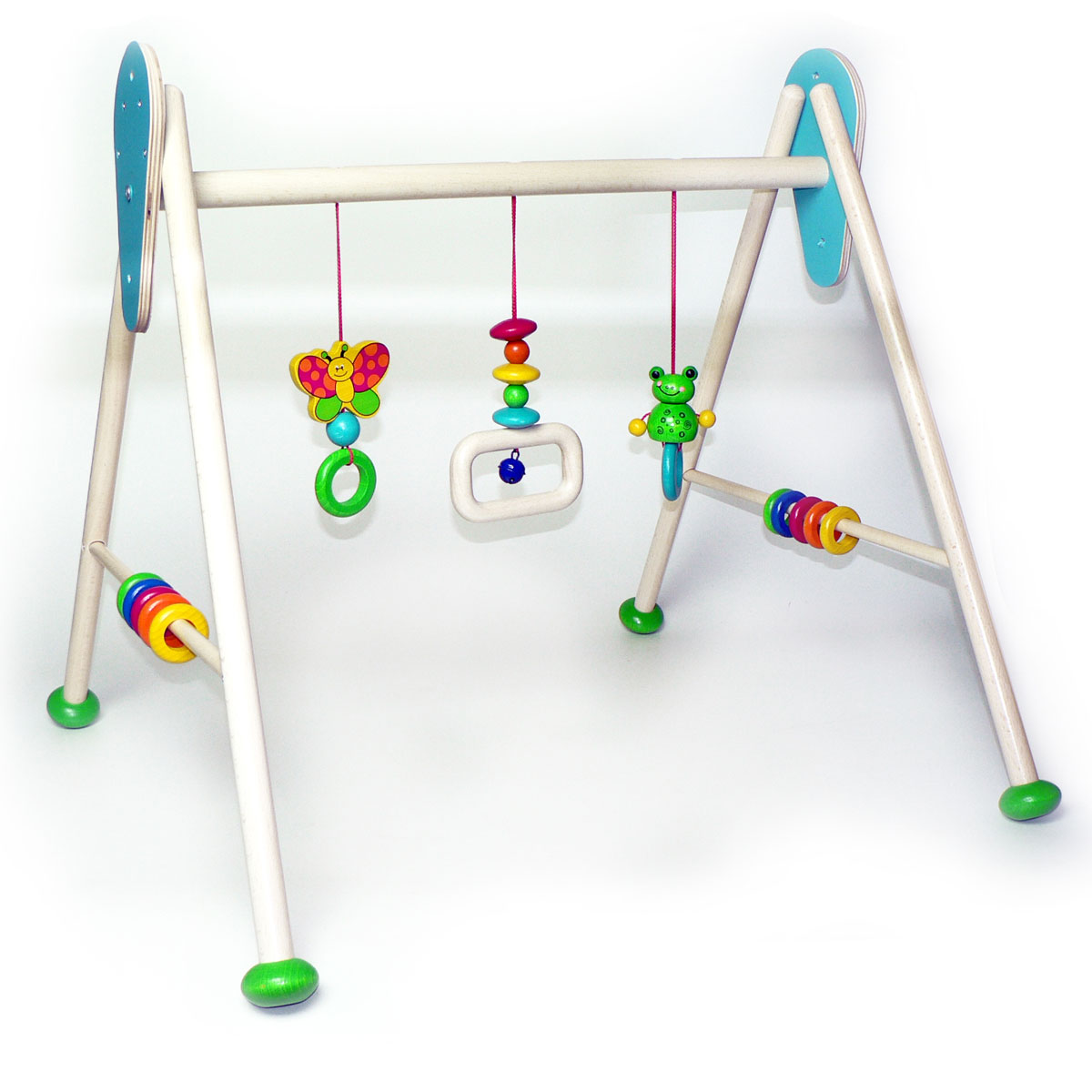 hess baby gym spieltrainer frosch toni aus solidem holz. Black Bedroom Furniture Sets. Home Design Ideas