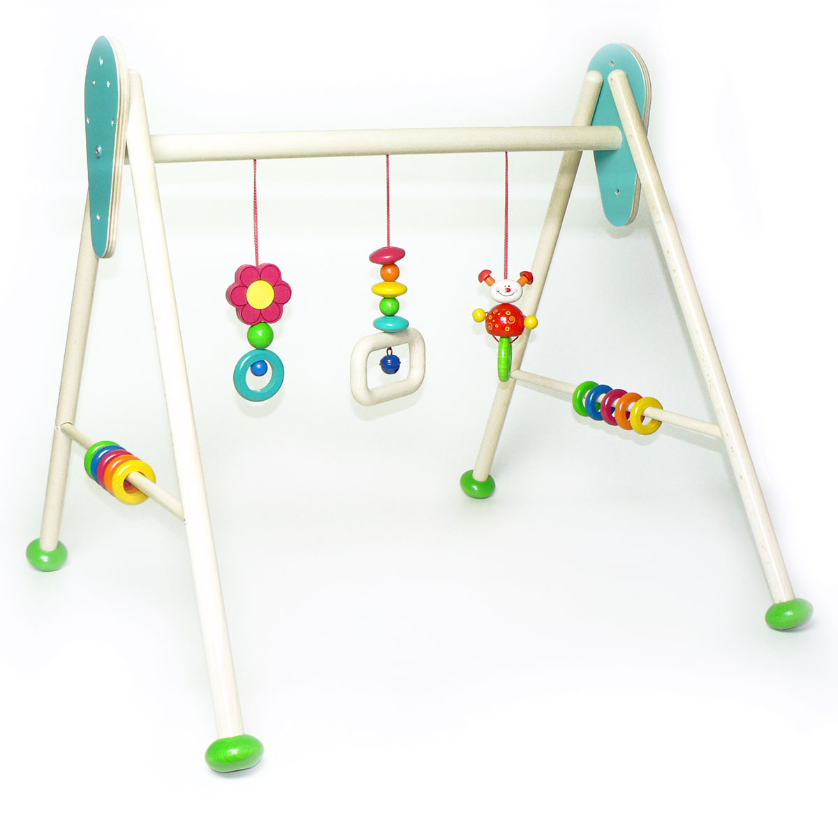 hess baby gym spieltrainer k fer tom aus solidem holz ebay. Black Bedroom Furniture Sets. Home Design Ideas