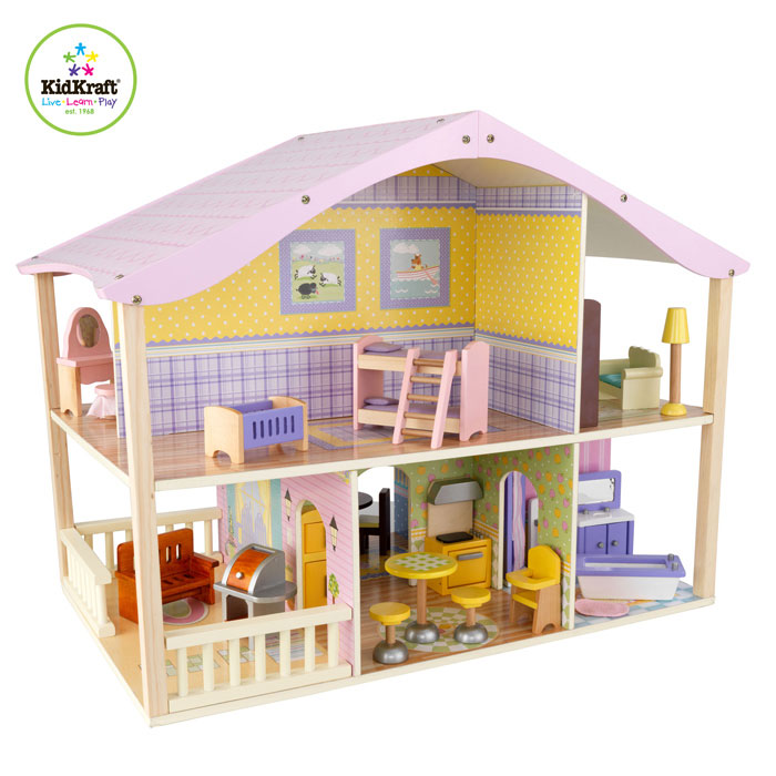 Details Zu Puppenhaus Bauwagen Holz Puppenbauwagen Möbel Pictures to