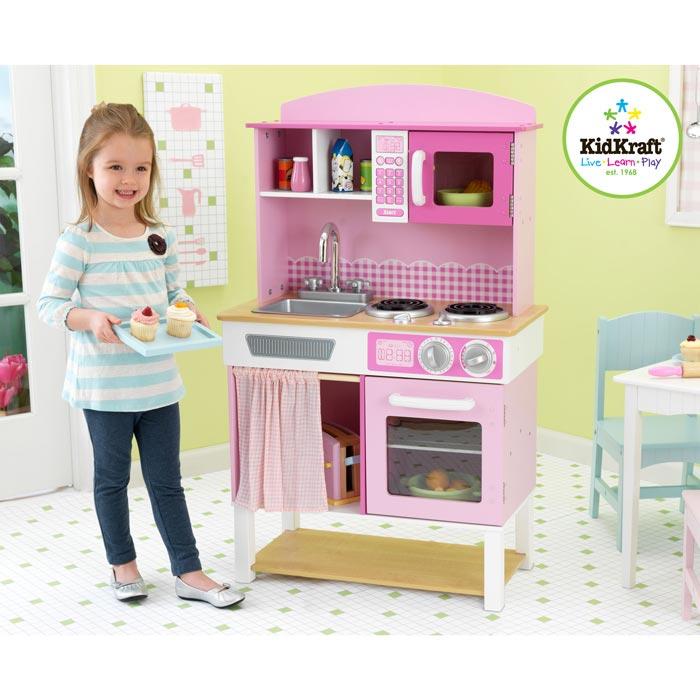 """kidkraft kinderküche """"muttis küche"""" aus holz spielküche"""