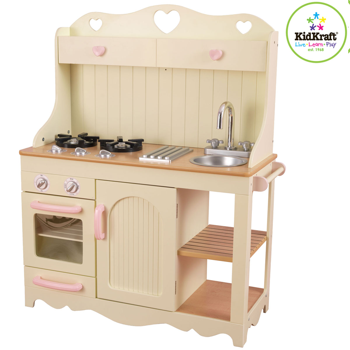 KidKraft Kinderküche Spielküche Prärie aus Holz