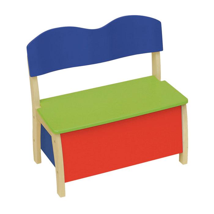 roba kindertruhenbank holz spielzeugkiste ebay. Black Bedroom Furniture Sets. Home Design Ideas