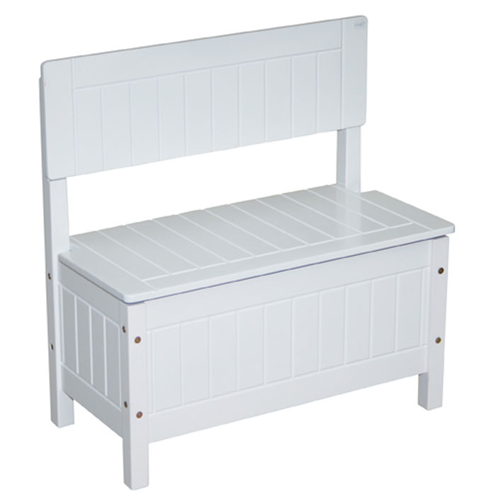roba truhenbank f r kinder aus holz ebay. Black Bedroom Furniture Sets. Home Design Ideas