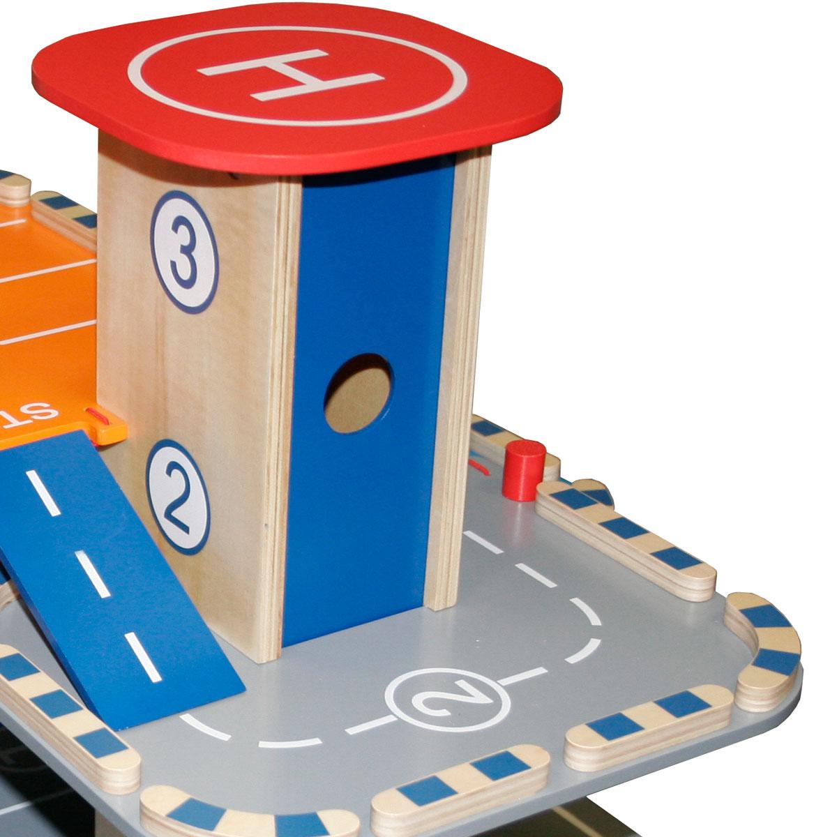 roba parkhaus aus holz mit zubeh r f r kinder ebay. Black Bedroom Furniture Sets. Home Design Ideas