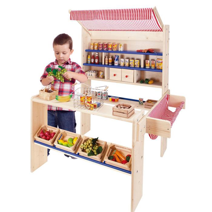 Kaufladen Kasperletheater Holz ~ Holzspielzeug von Nemmer nun auch im Shop von Pirum Holzspielzeuge