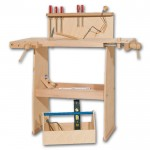 werkzeugkoffer und werkb nke aus holz schulen die motorik. Black Bedroom Furniture Sets. Home Design Ideas