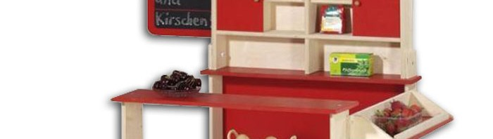 kaufladen tante emma laden und tolles kaufladenzubeh r. Black Bedroom Furniture Sets. Home Design Ideas