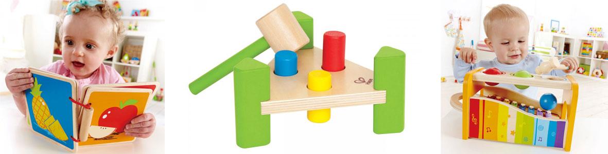 Babyspielzeug aus Holz