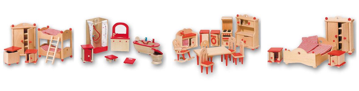 Puppenhausmoebel von Goki