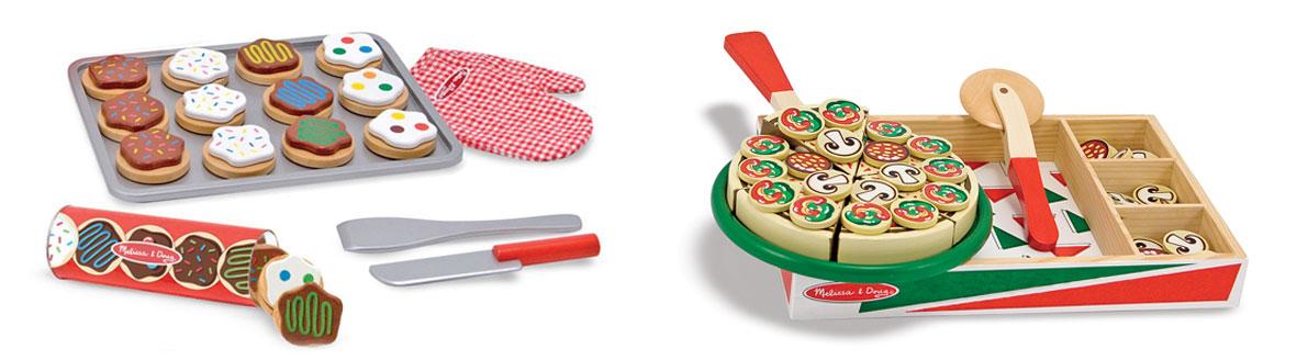 Pizza Und Kekse Für Die Kinderküche
