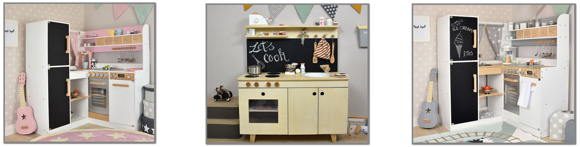 Kinderküchen aus Holz href=