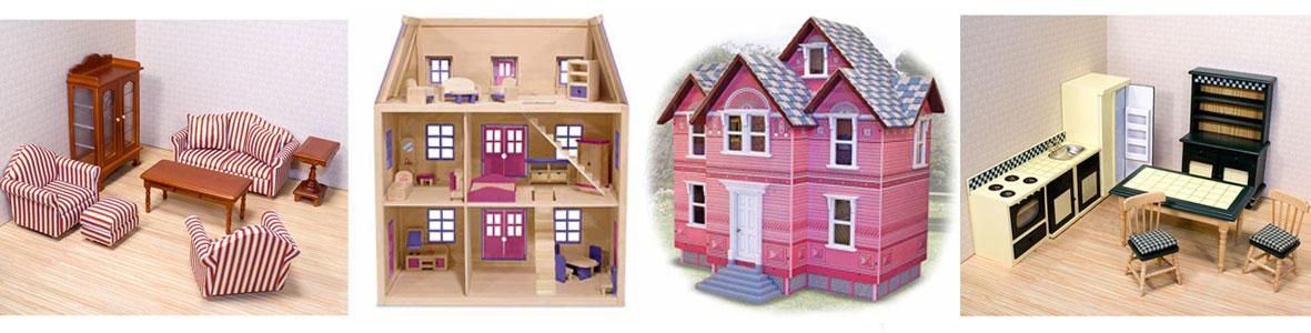 Puppenhaus und Puppenhausmoebel bei Melissa und Doug