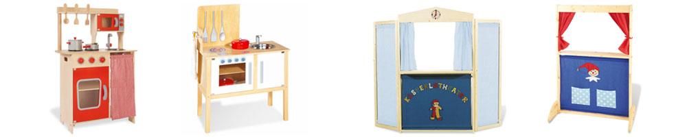 Kinderküchen und Kasperletheater von Pinolino