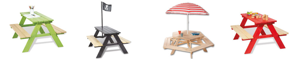 Kindersitzbänke von Pinolino