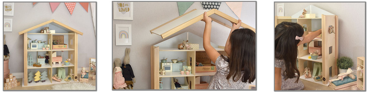 Puppenhäuser aus Holz href=