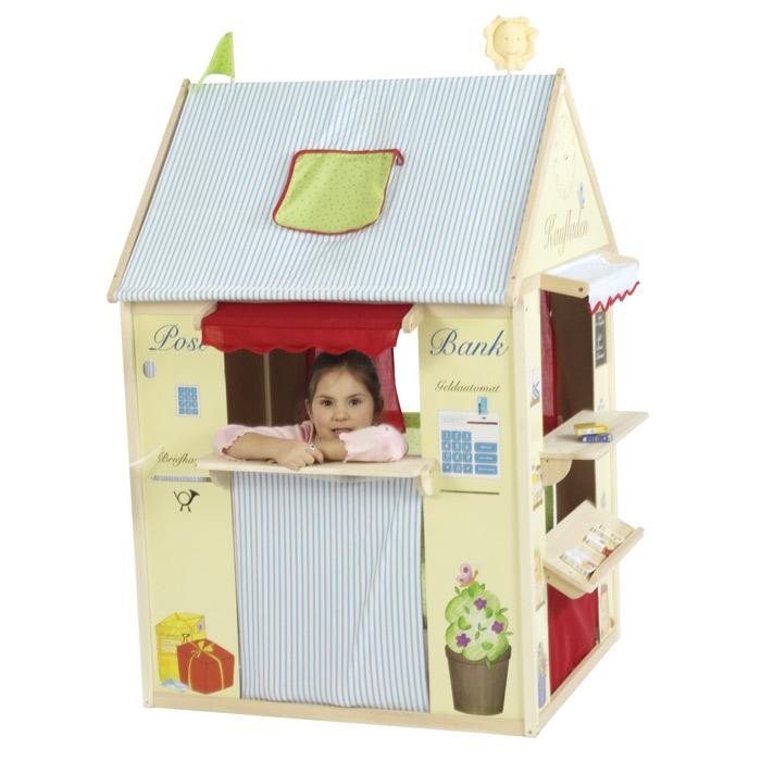 Spielhaus Für Kinderzimmer | Viele Spielemoglichkeiten Auch In Kleinen Kinderzimmern