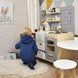Meppi Cuisine pour enfants Copenhague, gris