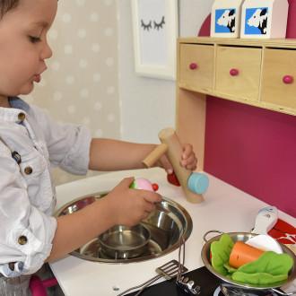 Sun Cuisine pour enfants de Sun blanche et rose