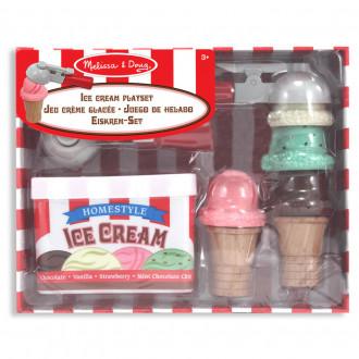 Melissa & Doug 14087 Jeu de cornets de crème glacée
