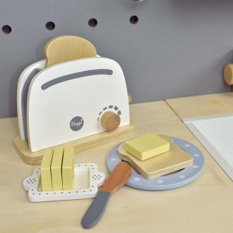 Meppi ensemble d'électroménager grille-pain, cafetière et mélangeur