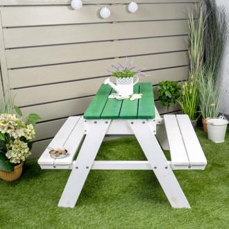 Meppi dinette Rügen bianco / verde
