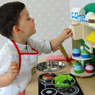 Sun 4123 cuisine pour enfants naturelle-verte