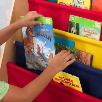 KidKraft Bibliothèque à Compartiments  Couleurs Primaires 14226