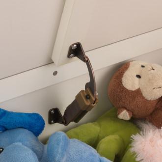 KidKraft Coffre à jouets Austin, vanille 14958