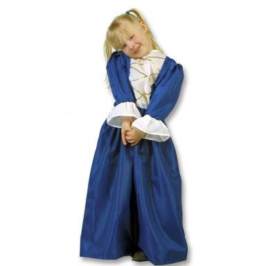Costume da principessa, blu