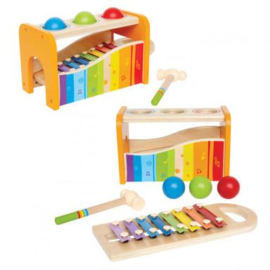 Hape Xylofoon en Hamerspel - E0305
