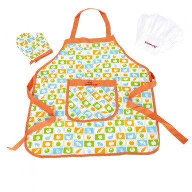 Hape E3119 Chef's Apron Set