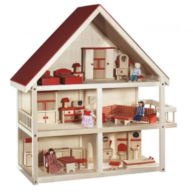 Roba casa delle bambole su 3 piani 9457