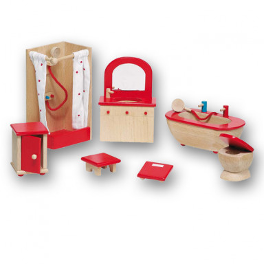 Goki Doll's furniture, Bathroom 51959