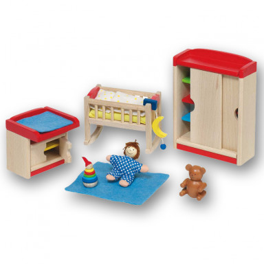 Goki Doll's furniture, Nursery 51905