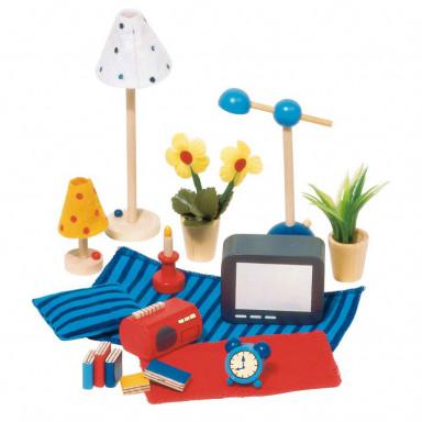 Goki mobili per casa set 17 accessori