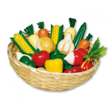 Goki Koszyk z warzywami — 18 części