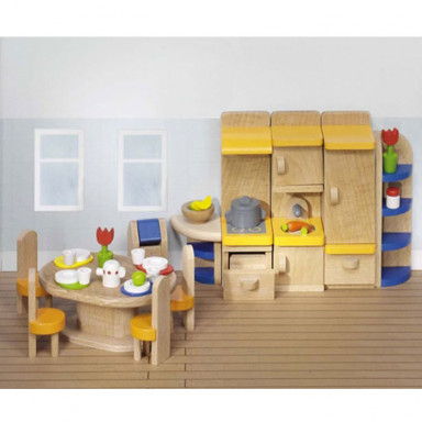 Goki Meble do domku dla lalek — Kuchnia Design