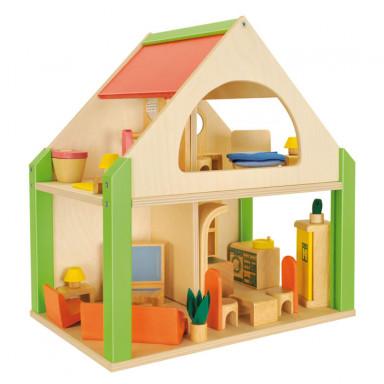 Nemmer casa delle bambole, aperta