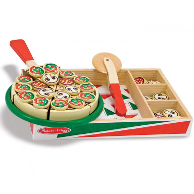 Melissa & Doug 10167 Wooden pizza