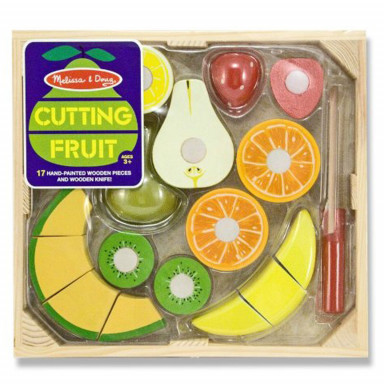 Melissa & Doug 14021 Wooden cutting fruit