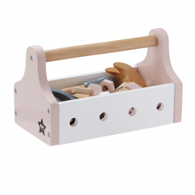 Kids Concept Werkzeugkiste Star, rosa