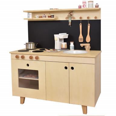 Kuchnia dla dzieci Malmö marki Meppi z litego drewna