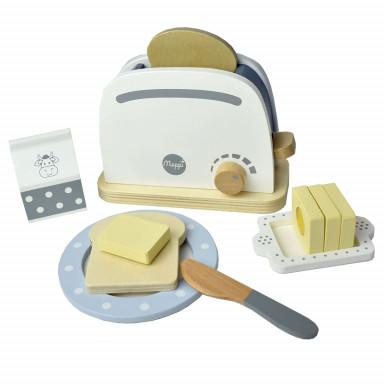 Meppi – Zestaw z tosterem do kuchni dziecięcej