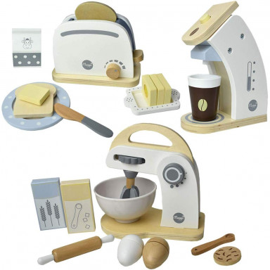 Meppi household appliance set toaster, coffee maker & mixer