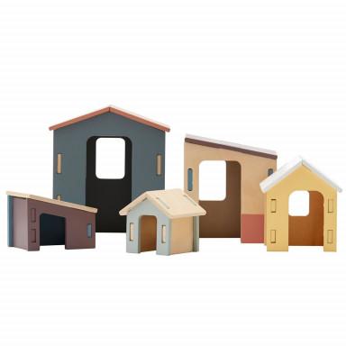 Kids Concept Häuschen_Set aus Holz