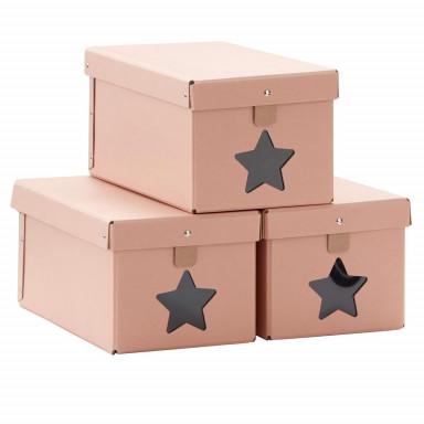 Kids Concept Schuhboxen, rosa