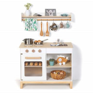 Spielküche Magnolia weiß/natur