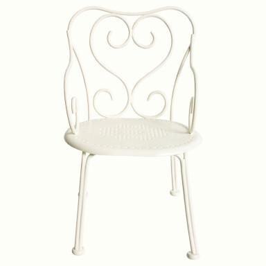 Maileg Puppenhausmöbel Stuhl für Hasen Romantic offwhite