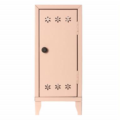 Maileg Puppenhausmöbel Schrank mit drei Kleiderbügeln, Puder